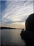 NT6779 : Coastal East Lothian : Evening Clouds, Victoria Harbour, Dunbar by Richard West
