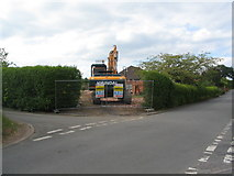 SP3177 : Demolition in Bates Road by E Gammie