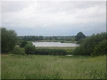 SK2926 : Willington gravel pits across the River Trent by John Slater