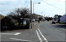 SS9077 : Junction in Ewenny by Jaggery