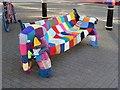 SP9211 : Tring - 700th anniversary yarn bombing - elephant by Rob Farrow