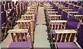 TV6198 : Eastbourne bandstand's seating by Steve  Fareham