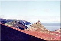 SS7049 : The North Devon Coast by Peter Jeffery