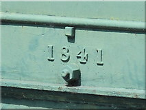 TL3706 : Bridge over the New River at Mill Lane, EN10 - detail by Mike Quinn