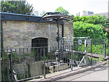 TL3706 : The old mill on the River Lea (or Lee) by Mike Quinn