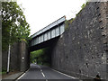 SN6080 : Railway Bridge on the A44 by Adrian Cable