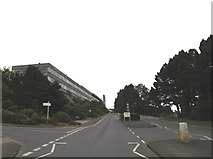 SN5981 : Aberystwyth University entrance by Adrian Cable