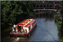 SJ8297 : Bridgewater Canal by Peter McDermott
