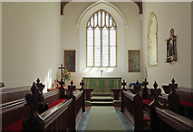 TL4731 : St Mary & St Clement, Clavering - Chancel by John Salmon