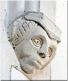 TL4731 : St Mary & St Clement, Clavering - Corbel by John Salmon