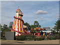 TQ3784 : Helter Skelter in the Olympic Park by Stephen Craven