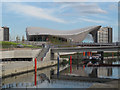 TQ3784 : River Lea through the Olympic Park by Stephen Craven