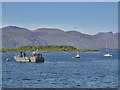 NM9045 : Boats anchored off Port Appin by Nigel Brown