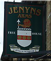 TF5800 : Sign for the Jenyns Arms, Denver Sluice by JThomas