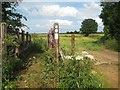 SP6058 : Nene Way at the boundary between Everdon and Weedon Bec by Nigel Cox