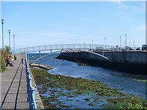 D3115 : River Glenarm meets the sea by Michael Dibb