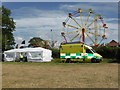 SO6452 : Bromyard Gala - ambulance and big wheel by Chris Allen
