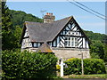 SO7263 : Half timbered house  at Shelsley Walsh, Worcestershire by Jeff Gogarty