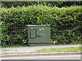 SN5982 : Telecommunications Box on the A487 Penglais Road by Adrian Cable