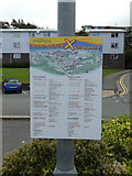 SN5981 : Aberystwyth University sign near Penbryn by Adrian Cable