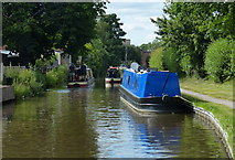 SK0418 : Narrowboats along the Trent & Mersey Canal by Mat Fascione