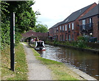 SK0418 : Trent & Mersey Canal in Rugeley by Mat Fascione