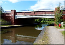 SK0419 : Rugeley Bypass Bridge No 67A by Mat Fascione
