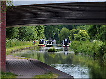 SK0419 : Trent & Mersey Canal near Rugeley by Mat Fascione