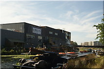 TQ3784 : View of London Tradition from the River Lea Navigation #2 by Robert Lamb