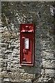 SO1148 : Llanbadarn-y-garreg Postbox by Bill Nicholls