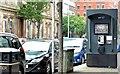J3373 : Public telephone, Bedford Street, Belfast (July 2015) by Albert Bridge