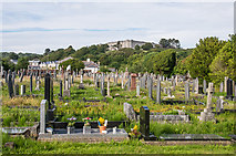 SN5981 : Aberystwyth Cemetery by Ian Capper
