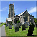 SS2324 : The Church of St Nectan in Stoke near Hartland, Devon by Roger  Kidd