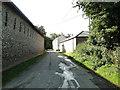 TG3826 : Walls at Grange Farm, Ingham by Adrian S Pye