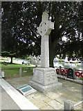 TG2608 : Thorpe St. Andrew's War Memorial by Adrian S Pye