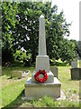TG3323 : Smallburgh War Memorial by Adrian S Pye