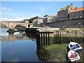 NT9952 : Bridge Terrace and Quay Wall by M J Richardson