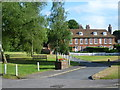 TQ5259 : View from the roundabout at Otford by Marathon