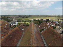 TQ9220 : Rye: eastward view from the church tower by Chris Downer