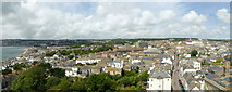 SW4730 : Panorama of Penzance town by Rod Allday