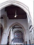 TQ9220 : Rye: the pendulum of the church clock by Chris Downer