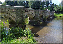 SJ9922 : Essex Bridge across the River Trent by Mat Fascione