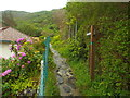 NM6796 : Footpath at East Bay, Mallaig by Malc McDonald