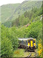 NM8981 : ScotRail train approaching Glenfinnan by Malc McDonald