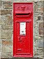 SS2321 : Edwardian Post Box at Elmscott, Devon by Roger  Kidd