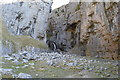 SD9164 : Waterfall, Gordale Scar by N Chadwick