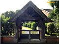 SJ6146 : Cemetery Gate by Garry Lavender-Rimmer