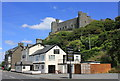 SH5731 : Hotel and Castle at Harlech by Jeff Buck