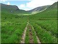 NN2543 : Track beside Allt Toaig by wrobison