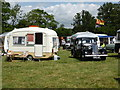 SO6452 : Bromyard Gala - historic caravans by Chris Allen